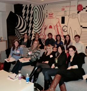 BU Ad students at BBDO